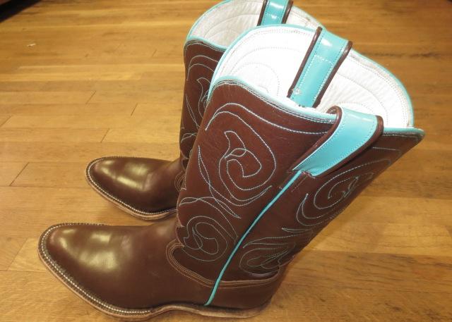 Brittney's boots