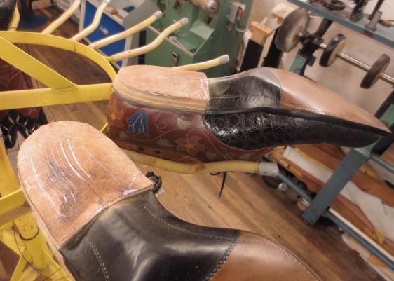 Building the heels
