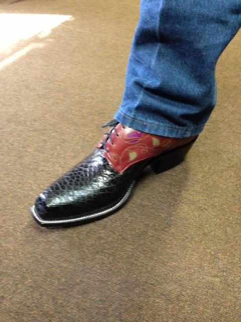Cowboy boot shoes