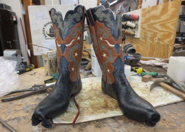 Longhorn boots
