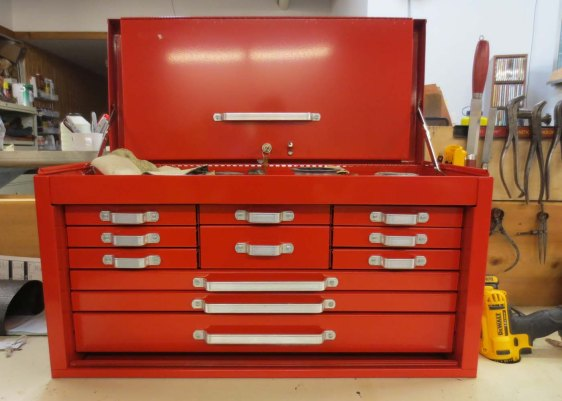 New red toolbox