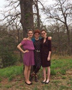 Lisa, Morgan and Paige