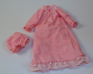 Nightgown and bloomers