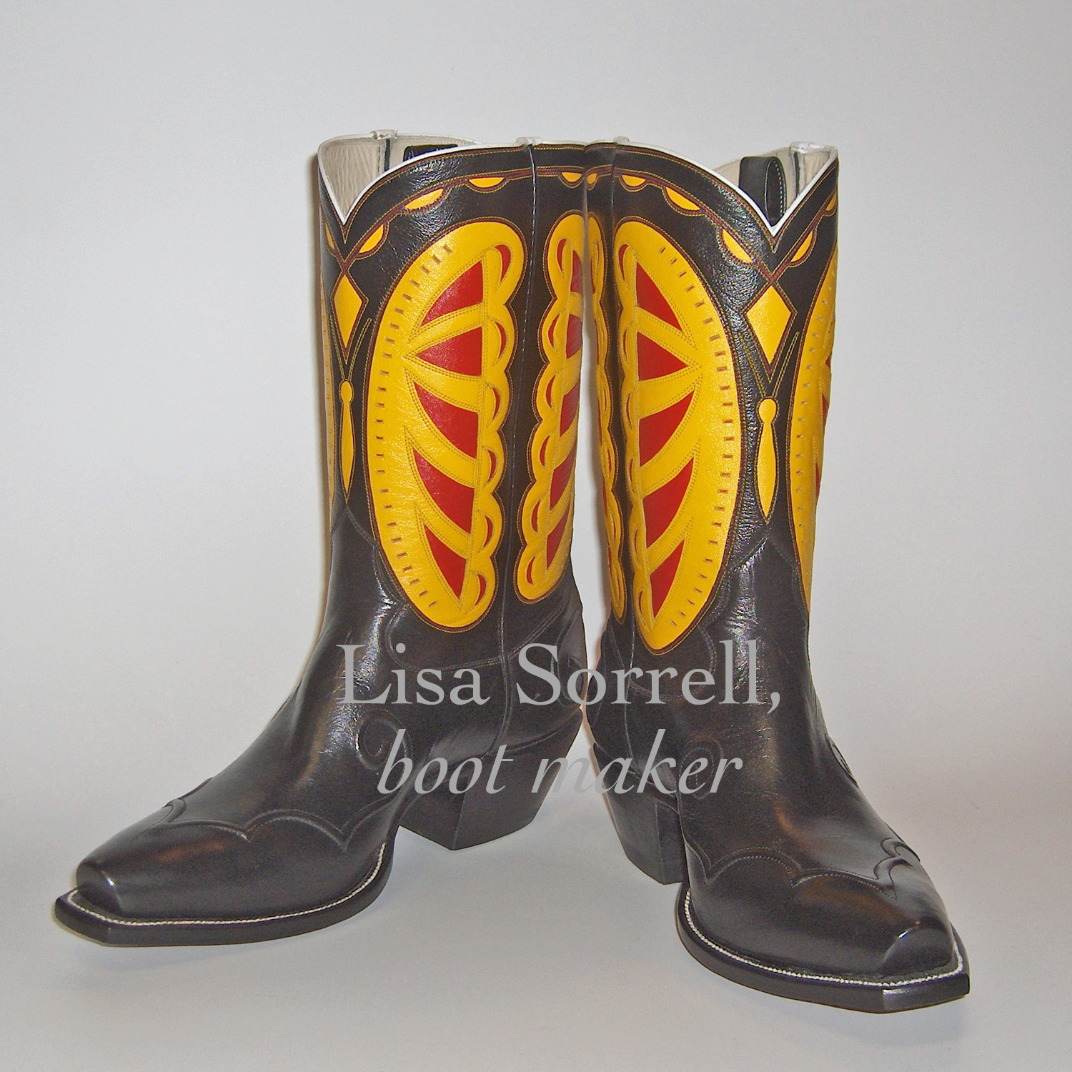 Cowboy Boot Makers ~ Artist challenge lisa sorrell cowboy boot maker