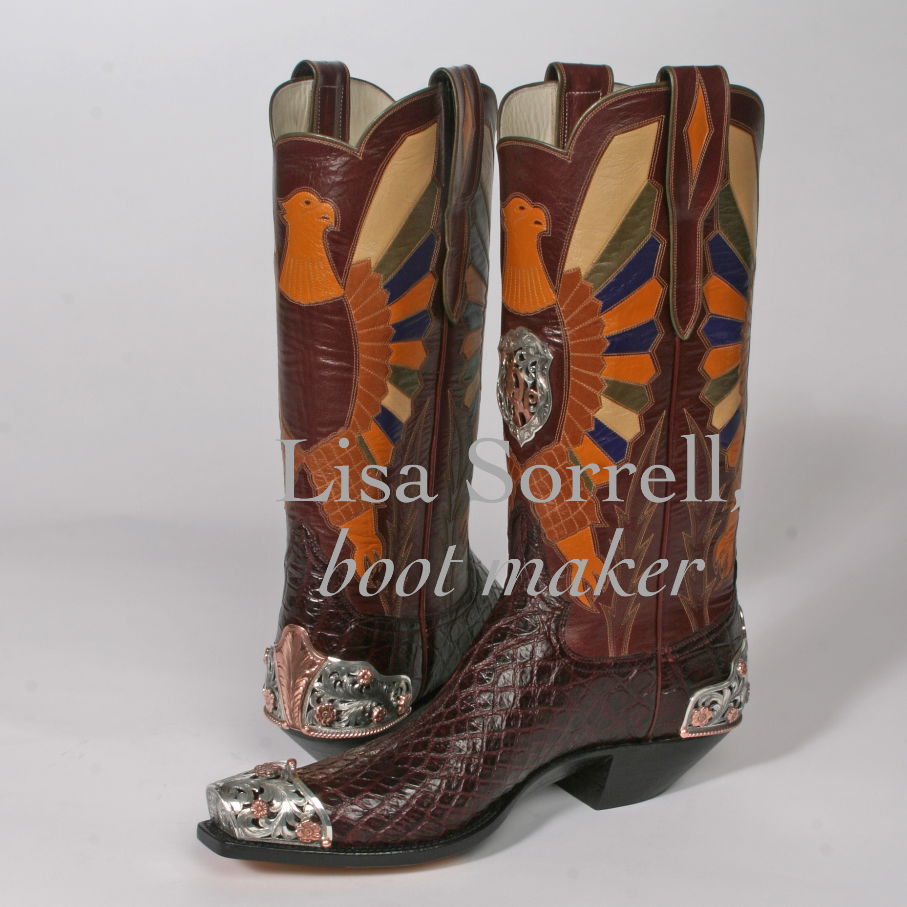 Artist Challenge Lisa Sorrell Cowboy Boot Maker