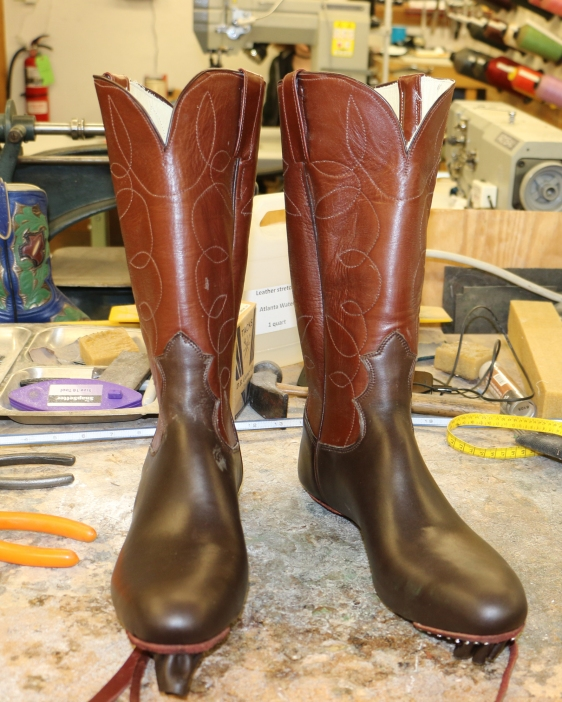 Cowboy Boot Makers ~ Students lisa sorrell cowboy boot maker