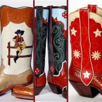 Cowgirls with lines