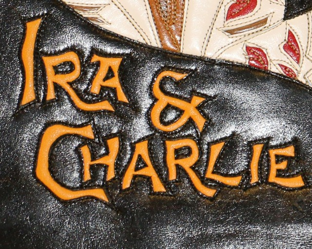 Ira and Charlie font