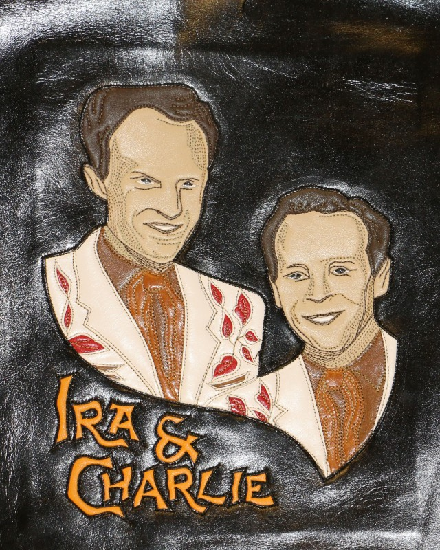 Ira and Charlie portrait